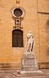 Statue of Alfonso the chaste Royalty Free Stock Images