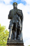 Statue of Allan Ramsay Royalty Free Stock Photos