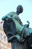 Statue of an allegory - Vienna - Austria Stock Image