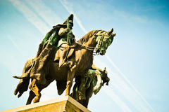 Statue allemande Photographie stock