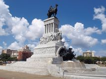 Statue allgemeines MÃ ¡ ximo GÃ ³ mez Stockfotos