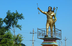 Statue of Alluri Seetharama Raju 1998 revolutionary against British government for freedom Stock Images