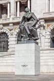 Statue of Almeida Garrett Stock Photography