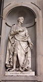 Statue of Amerigo Vespucci Royalty Free Stock Image