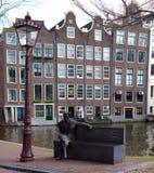 Statue in amsterdam Stock Photo