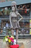 Statue of Amy Winehouse at Camden Stables Market Stock Photos