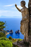 The statue of Anacapri Royalty Free Stock Photo