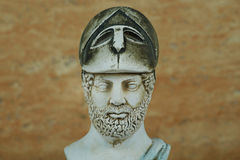 Statue of ancient Athens statesman Pericles. Stock Photo