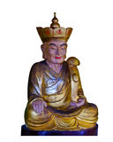 Statue of ancient China. Ancient Chinese characters statue in white background Royalty Free Stock Photos