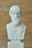 Statue of ancient Greek philosopher Plato. Stock Photos