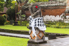 Statue in ancient temple on Bali. Indonesia Stock Images
