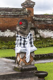 Statue in ancient temple on Bali. Indonesia Stock Photos