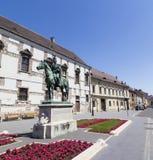 Statue of András Hadik Stock Photo