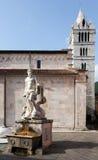 Statue of Andrea Doria as Neptune in Carrara Royalty Free Stock Images