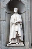 Statue of Andrea Orgagna Stock Image