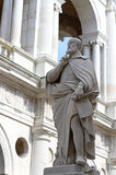 Statue of Andrea Palladio in vicenza city in Italy Royalty Free Stock Image