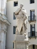 Statue of Andrea Palladio in Vicenza. Italy Royalty Free Stock Photo