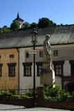 Banska Stiavnica, Old Town, Slovakia, UNESCO stock photography