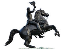 Statue of Andrew Jackson Jackson Square New Orlean Royalty Free Stock Image
