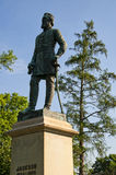 Statue of Andrew Stonewall Jackson in the Cemetery in Lexington Virginia USA Stock Photography