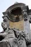 Statue angélique Photographie stock libre de droits