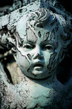 Statue Of Angel. Statue Of Evil Baby Face, Washington DC Stock Images