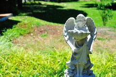 Statue angel ancient symbol old face Stock Images