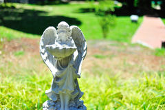 Statue angel ancient symbol old face Stock Photo