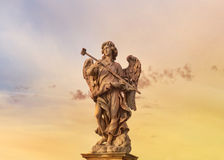 Statue of an angel of Castel Sant'Angelo, Rome Royalty Free Stock Photos