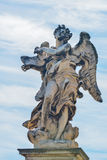 Statue of an angel at the Castel Santangelo in Rome, Italy Royalty Free Stock Photos