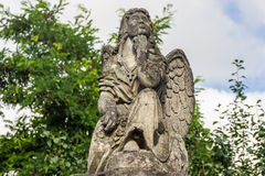 Statue of an angel. Cathedral of Saints Peter and Paul, Kamenetz Stock Image