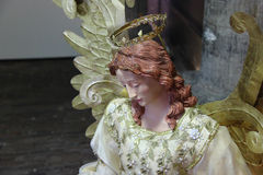 Statue of angel. Royalty Free Stock Photos