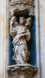 Statue of an angel in Convento de San Esteban, Salamanca Stock Photo