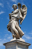 Statue of angel on ponte San Angelo, Rome Royalty Free Stock Images
