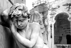 Recoleta cemetery, Buenos Aires, Argentina. Royalty Free Stock Photo