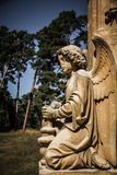 Statue of angel - Valtice, Czech Republic, Europe Stock Photo