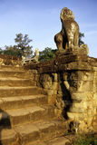 Statue- Angkor, Cambodia Stock Image