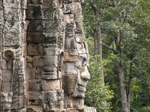 Statue at Angkor Wat Stock Photos