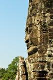 Statue at Angkor Wat Royalty Free Stock Photography