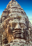 Statue Angkor Wat, Khmer temple complex, Asia. Siem Reap, Cambod Royalty Free Stock Photos