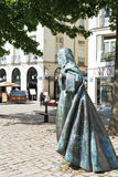 Statue Anne of Brittany in Nantes, France Royalty Free Stock Photos