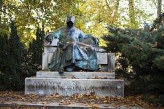 Statue of Anonymous, Vajdahunyad Castle Royalty Free Stock Photo
