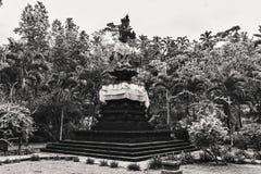 Statue antiche di balinese, hinduism fotografia stock