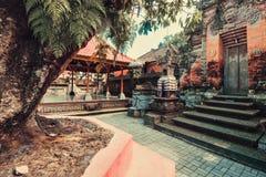 Statue antiche di balinese, hinduism fotografie stock