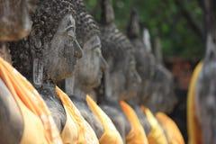 Statue antiche di Buddha Immagini Stock