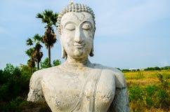 Statue antiche di Buddha fotografia stock