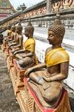 Statue antique de Bouddha Images stock