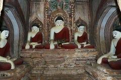 Statue antique de Bouddha Photographie stock libre de droits