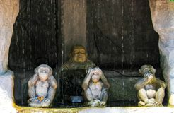 Statue antique de Bouddha ? Ayutthaya, Tha?lande images stock