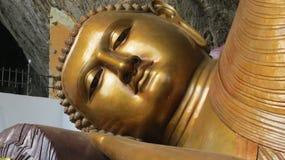 Statue antique de Bouddha dans le pahiyangala Sri Lanka photo stock